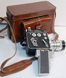 CAMERA LD8 Modèle 1123 - P.LEVEQUE - 8 mm - 1952/60 - N°4266 - COLLECTOR + zoom