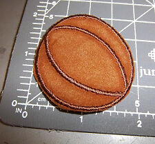 Basketball Iron on Embroidered Patch, cute small patch, great for jerseys