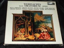 WEIHNACHTS ORATORIUM Bach 3 LP DECCA UK STEREO BOX SET 346-8