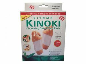 10/20 Kinoki Detox Foot Pad Patches Plaster Remove Harmful Body ToxinsHealth Box