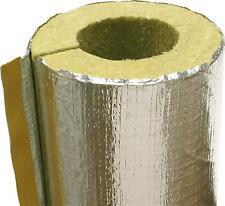 2 Isolierung f. Rauchrohr Abgasrohr Kamin 80 mm Alu Rauchrohrisolierung Heizung
