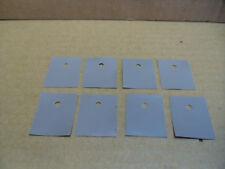 8 Silikonpads TO-3PL für  2SC5200 u.ä.