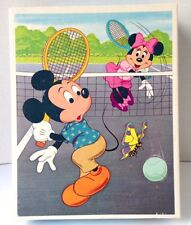 Vintage MICKEY MOUSE Jigsaw Puzzle Whitman 4605 Sealed 100 pc