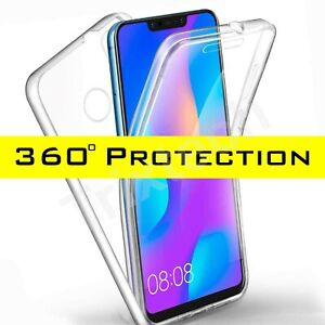 360 Shockproof Protective Silicone TPU Gel Cover Case for Huawei P40 PRO P30Lite