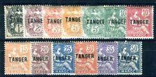 MAROC 1918 Yvert 80-91,94 ** POSTFRISCH TADELLOS TANGER KURZSATZ (09267