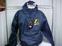NCAA University of Akron Zips Team Issued Hooded Pullover Jacket Size- 3XL