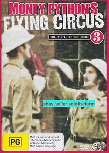 Monty Python's Flying Circus Complete Series / Season 3 TV Show VGC Region 4