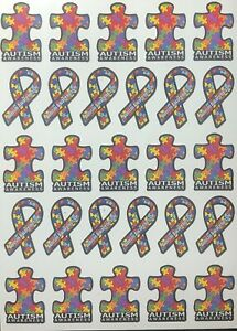 Autism Awareness Stickers Decals 1/10 Scale Traxxas, Arrma, Losi, Redcat