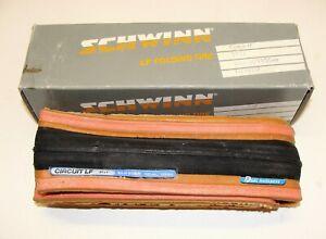 """~ Vintage New NOS Schwinn Circuit LF Lightweight Folding Tire 27 x 1"""" 195gms ~"""