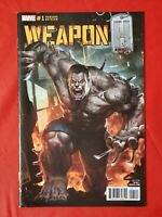 WEAPON H #1 SKAN 1:10 VARIANT INCENTIVE COVER 2018 MARVEL COMICS