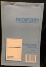 Rediform Purchase Order Books, 1H141, 50 Triplicate Sets per Book