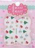 Nail Art Stickers Autocollants Ongles Déco Scrapbooking Bonnets Sapins Flocons