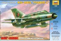 MiG-21 BIS FISHBED L (ILMAVOIMAT/FINNISH, POLISH & SOVIET AF MKGS) 1/72 ZVEZDA