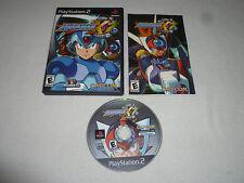 PLAYSTATION PS2 VIDEO GAME MEGA MAN X7 COMPLETE W CASE & MANUAL MEGAMAN CAPCOM