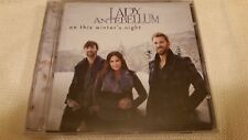 LADY ANTEBELLUM ON THIS WINTER'S NIGHT NEW FACTORY SEALED CD HOLIDAY MUSIC