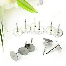100PCS High Quality DIY Making Jewelry Findings Sterling Silver Earrings Wire