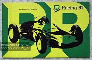 BP INTERNATIONAL RACING SUCCESSES 1961 Achievements Booklet F1 Rally LE MANS
