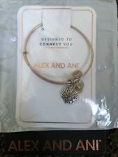NEW ALEX AND ANI STAR OF VENUS Rose Gold Silver Two Tone Charm Bangle Bracelet
