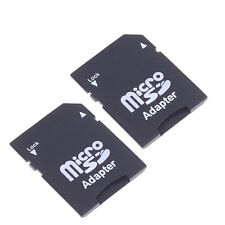 2PCS Micro SD TransFlash TF to SD SDHC Memory Card Adapter SD Card Converter Hot