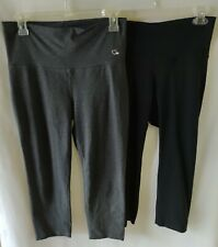 New listing Bulk Lot of Women's Clothing Size M Ashy Bines Toned Black & Grey 3/4 Leggings