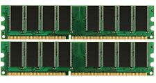 New! 2GB KIT 2X1GB PC3200 DDR 400MHZ LOW DENSITY RAM MEMORY