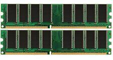New! 2GB KIT 2X1GB PC3200 DDR 400MHZ LOW DENSITY RAM MEMORY