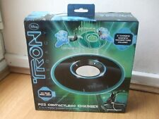 NEW TRON LEGACY WIRLESS CHARGING PS3 CONTROLLER LED PAD INDUCTION CHARGER DISNEY