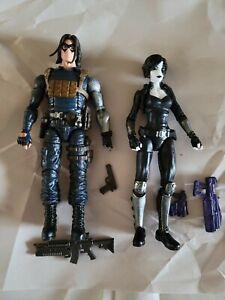 Hasbro Marvel Legends comic Winter Soldier + Domino figures