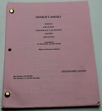 CHARLIE'S ANGELS / 1999 Screenplay, Three women detectives with mysterious boss