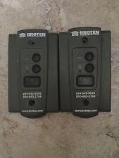BROTEN (MARANTEC) Dual Garage Door Opener Wall Control Panel