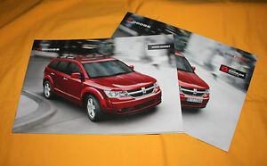 Dodge Journey 2008 Prospekt Brochure Depliant Prospetto Catalog Folder Broschyr