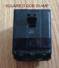SQUARE D  QOB CIRCUIT BREAKER  30 AMP 3 POLE  240 VOLT QOB  HACR