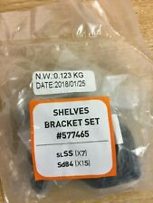 KETER ELITE STORAGE REPLACEMENT SHELVES BRACKET SET 577465 - NEW