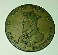 Conder Halfpenny Token 1792 Lancaster John Gaunt Collectors Coin * NO RESERVE *