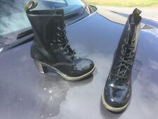 Dr Martens Darcie black leather boots UK 6 EU 39