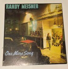 SEALED Randy Meisner One More Song vinyl LP MEXICO 1980 EAGLES