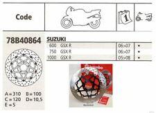 Brembo Disque De Frein Disques de frein avant SUZUKI GSXR 600 750 1000