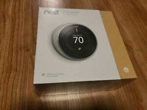 Nest 3rd Generation Learning Thermostat T3007ES - New in Sealed Box!