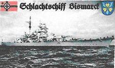 Fahne - Schlachtschiff Bismarck  (Flagge / 2. WK  / 150x90cm)