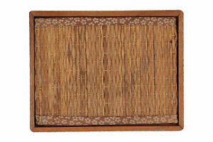 A small Japanese model of a tatami mat / stand Vintage 13 cm