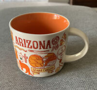 New! STARBUCKS Been There Series Coffee Mug, ARIZONA, 14 OZ
