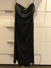 INDIGO Black Strapless Cocktail Dress Size 8