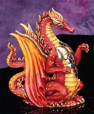 Fire Dragon U-Paint Ceramic Bisque Figurine Fantasy Unpainted Ready To Paint