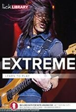 LICK LIBRARY LEARN TO PLAY EXTREME GET THE FUNK OUT ROCK METAL GUITAR LESSON DVD