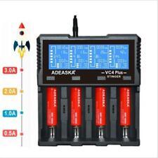 ADEASKA VC4 PLUS LCD Display Charger For Li-ion / LiFePO4 / Ni-MH Battery