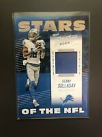 2020 Panini Prestige NFL Kenny Golladay Jersey Relic Stars of the NFL Lions