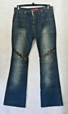 YMI UBU Jeans with lace up detail Size 13