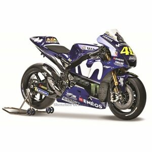 2021 #MotoGP Yamaha #VR46 Valentino Rossi Bike YZF-M1 1:18 Scale Motorcycles