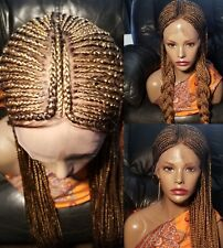 LACE Wig /French braids (indian tribal braids) IN STOCK NOW (color2 27)