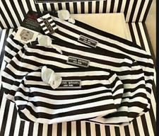 BRAND NEW HENRI BENDEL signature centennial stripe nylon cosmetic bag